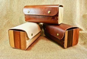 Black Sheep All Purpose Leather and Wood Box