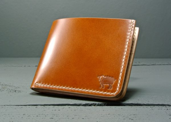 Cotswold Shell Cordovan Leather Wallet 20