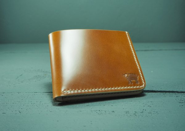Cotswold Shell Cordovan Leather Wallet 27