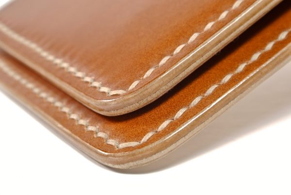 Cotswold Shell Cordovan Leather Wallet 3