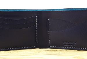 Exmoor Art Deco Bi Fold Card Wallet