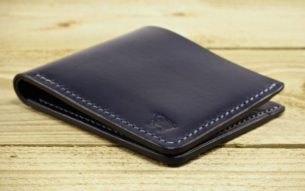 Exmoor Art Deco Bi Fold Leather Wallet 4