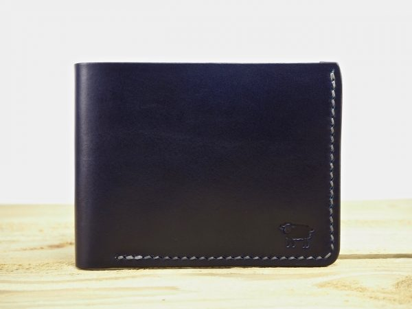 Exmoor Art Deco Bi Fold Leather Wallet 9