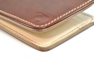 Cotswold Shell Cordovan Leather Wallet – Antique Brown