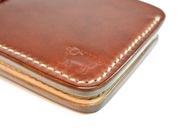 japanese shell cordovan wallet