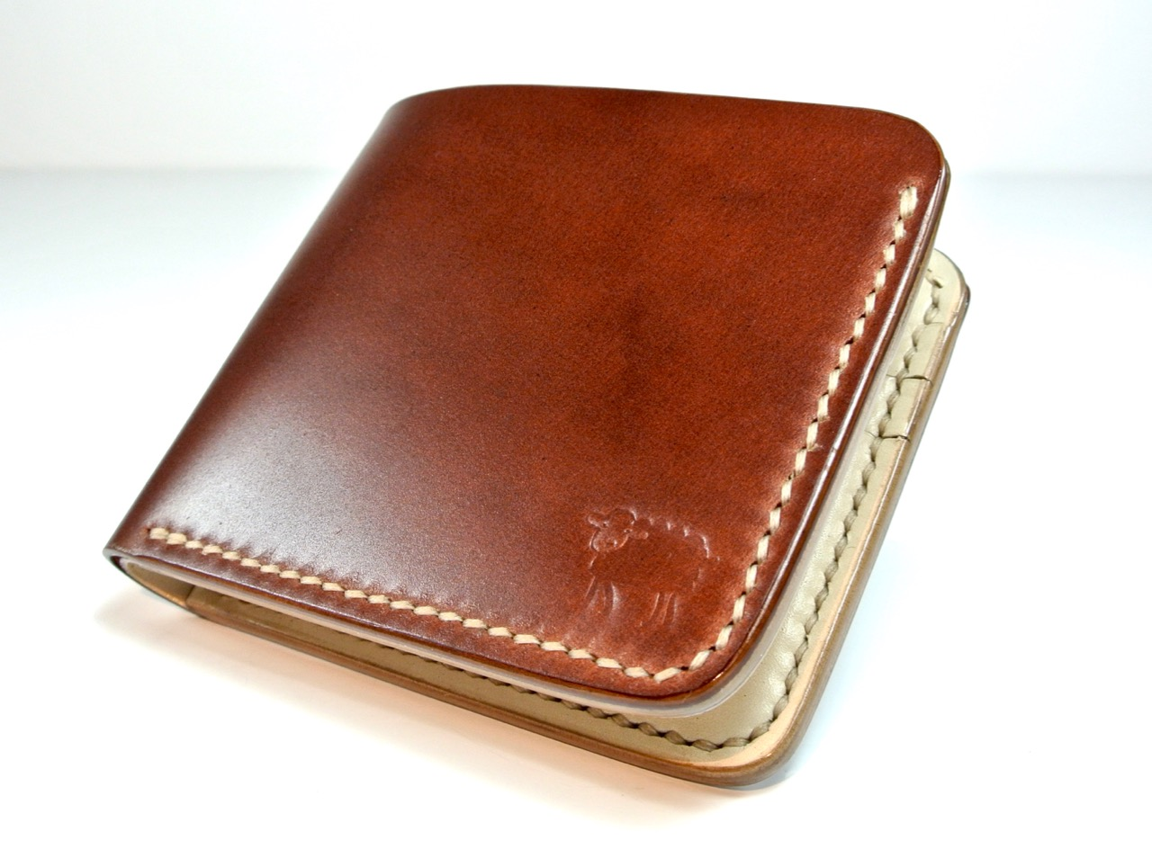 4e815f5c290d Cotswold Shell Cordovan Leather Wallet - Antique Brown - Black Sheep ...