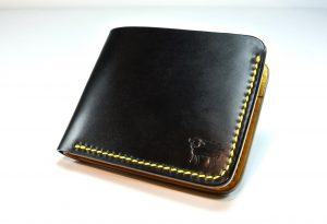 Cotswold Shell Cordovan Leather Bumble Bee Wallet
