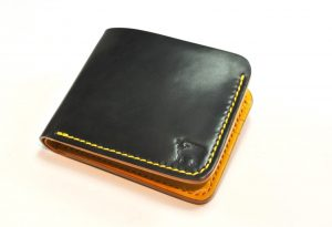 Toscana Shell Cordovan Wallet Bumble Bee