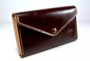 Cotswold Shell Cordovan Leather Purse