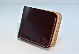 Toscana Shell Cordovan Leather Wallet – Burgundy