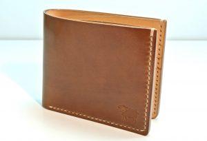 Horween Shell Cordovan Bourbon Wallet