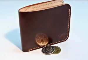 Toscana Shell Cordovan Wallet Burgundy