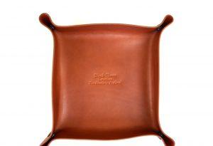 Herdwick Leather tray
